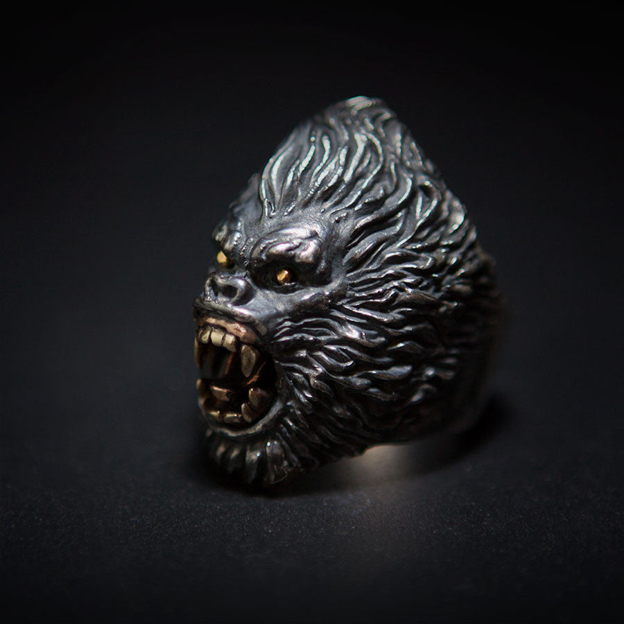 Raging Ape Gorilla Ring - Holy Buyble