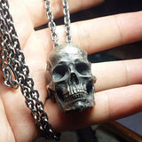 Realistic Skull Necklace - Holy Buyble