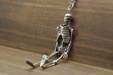 Silver Full Skeleton Pendant - Holy Buyble