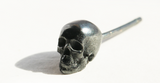 Handcrafted Silver Skull Earring - Holy Buyble