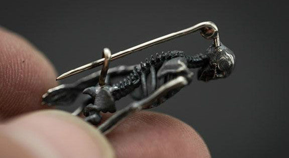 Skeleton Brooch - Holy Buyble