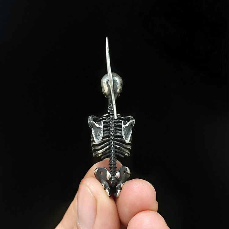 Antique Finish Skeleton Earring - Holy Buyble