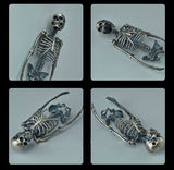 Silver Skeleton Pendant - Holy Buyble