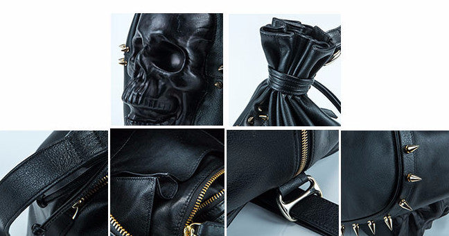 Gladiator Skull Bucket Bag - Holy Buyble