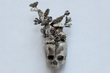 Skull Butterfly Brooch - Holy Buyble
