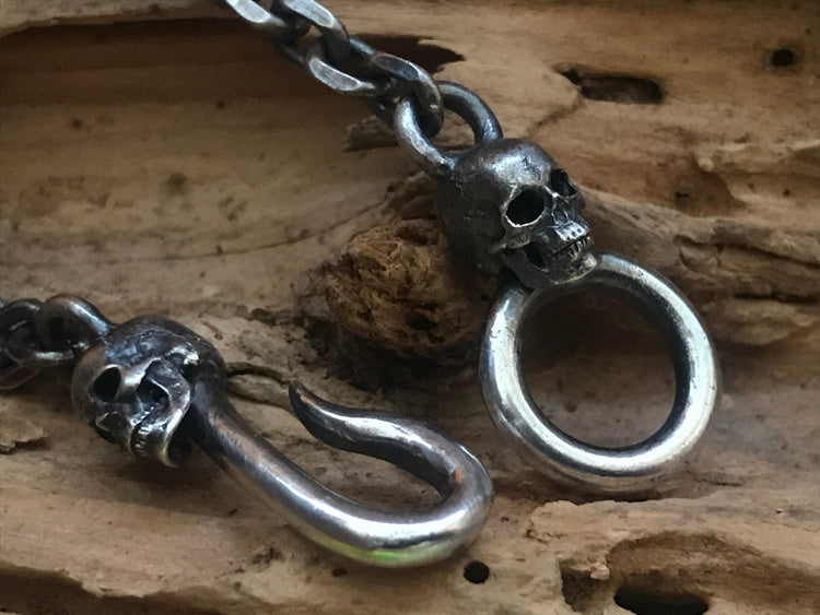 Spine Skeleton Crossbones Skull Pendant - Holy Buyble