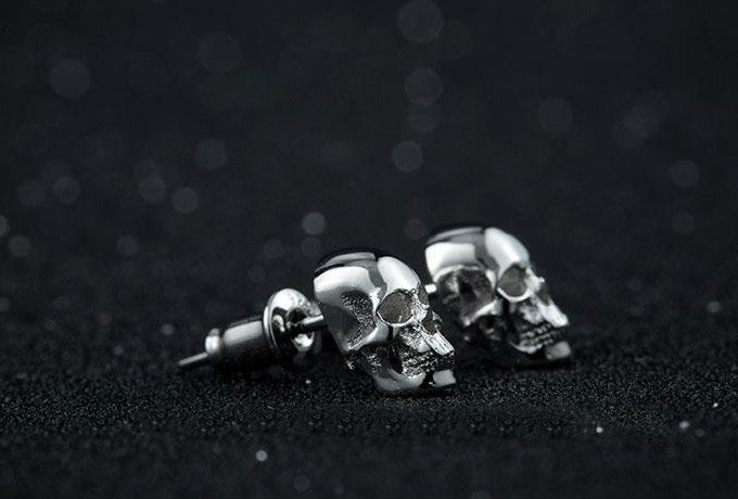 Skull Earrings - Holy Buyble