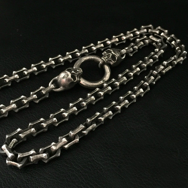 Skull Chain Necklace - Holy Buyble