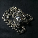 Chain Skull Necklace - Holy Buyble