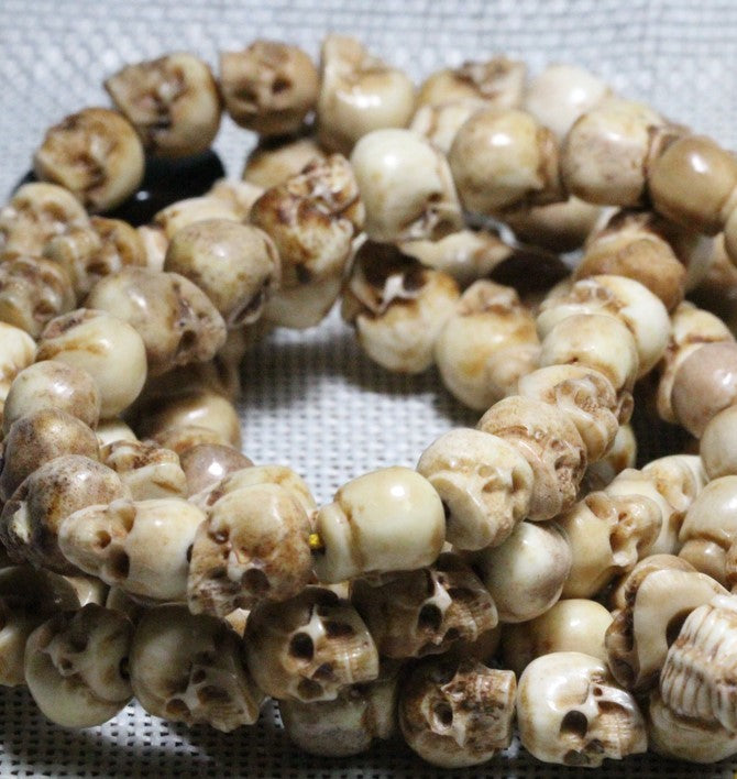 Deer Antler Skull Necklace - Holy Buyble