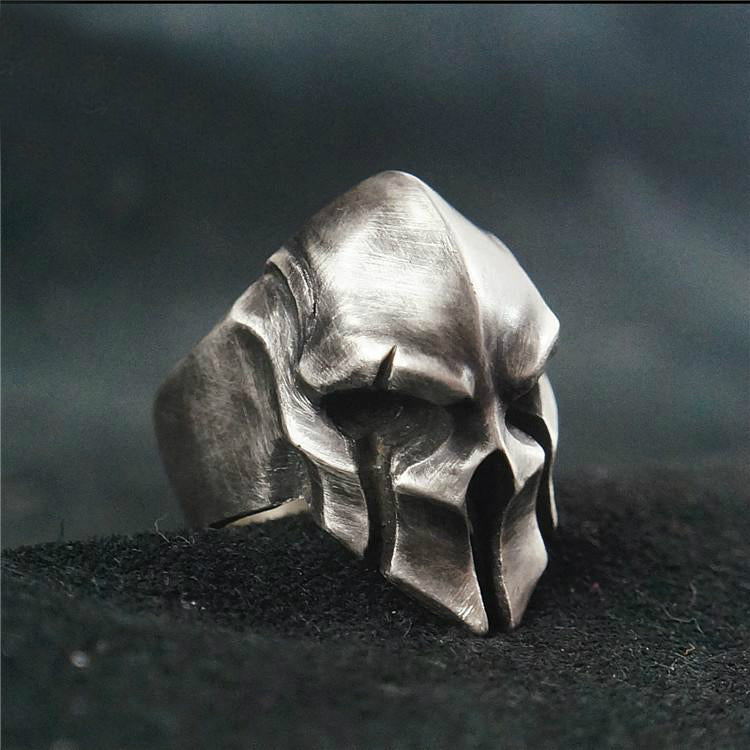 Made to Order Skull Warrior Ring - Holy Buyble