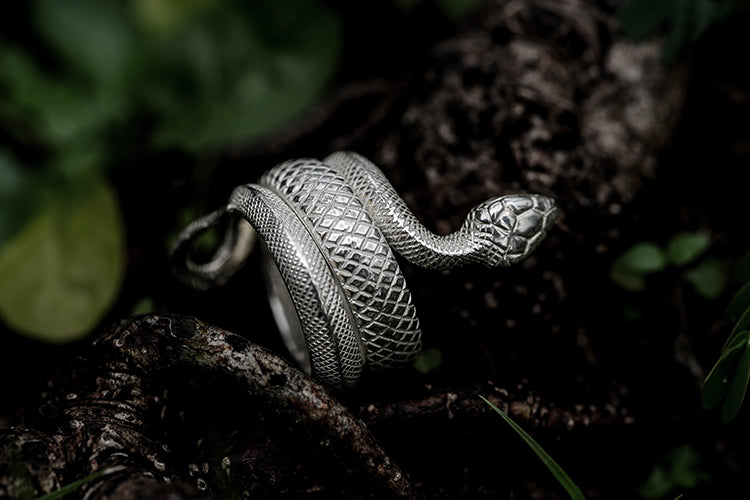 Holy Snake Ring - Holy Buyble