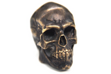 Brass Skull Necklace Pendant