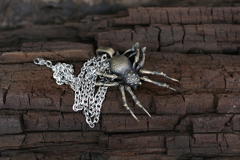 🕷️ Monster Wolf Spider Pendant 🕷️