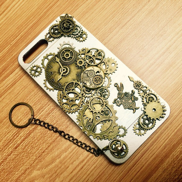 Steampunk Rabbit iPhone 6 & 7 phone case - Holy Buyble
