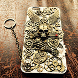 Steampunk Skull iPhone Case