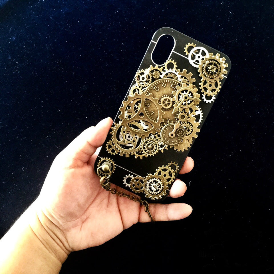 Steampunk iPhone 6 6s 7 phone case - Holy Buyble