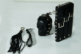 Studded Skull Leather Wallet and Coin Case Set - Holy Buyble