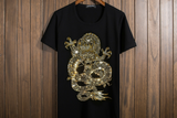 Bling Bling Crystal Glitter Dragon Unisex T-Shirt - Holy Buyble