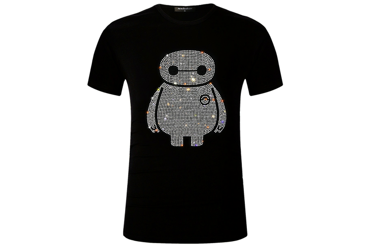 Bling Bling Crystal Glitter Big Hero Unisex T-Shirt - Holy Buyble