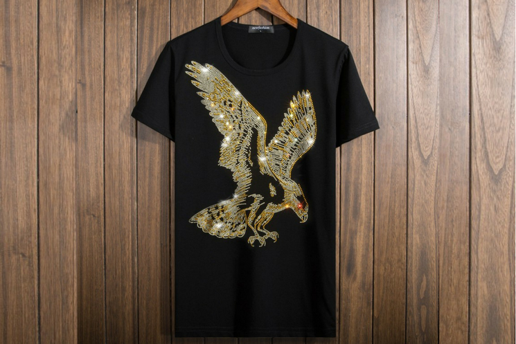 Bling Bling Crystal Sparkle Glitter American Eagle Unisex T-Shirt - Holy Buyble