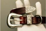 La Bretagna Italian Leather Buckle Dog Collar - Holy Buyble