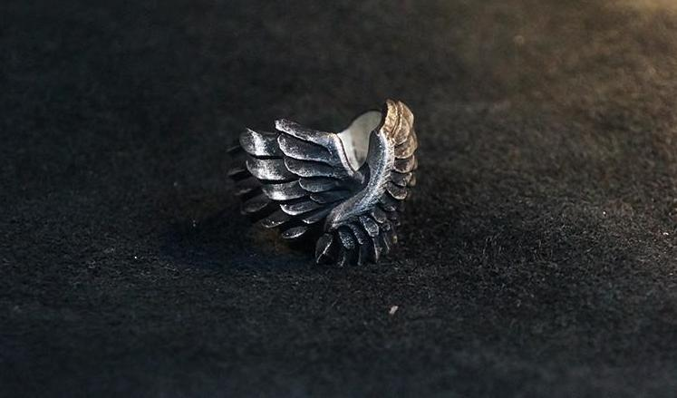 Wings of Freedom Ring - Holy Buyble