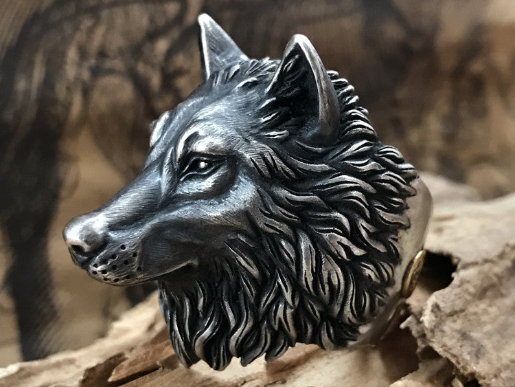 Made to Order Wolf Ring - Holy Buyble
