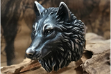🐺 Pack Leader Wolf Ring - Holy Buyble
