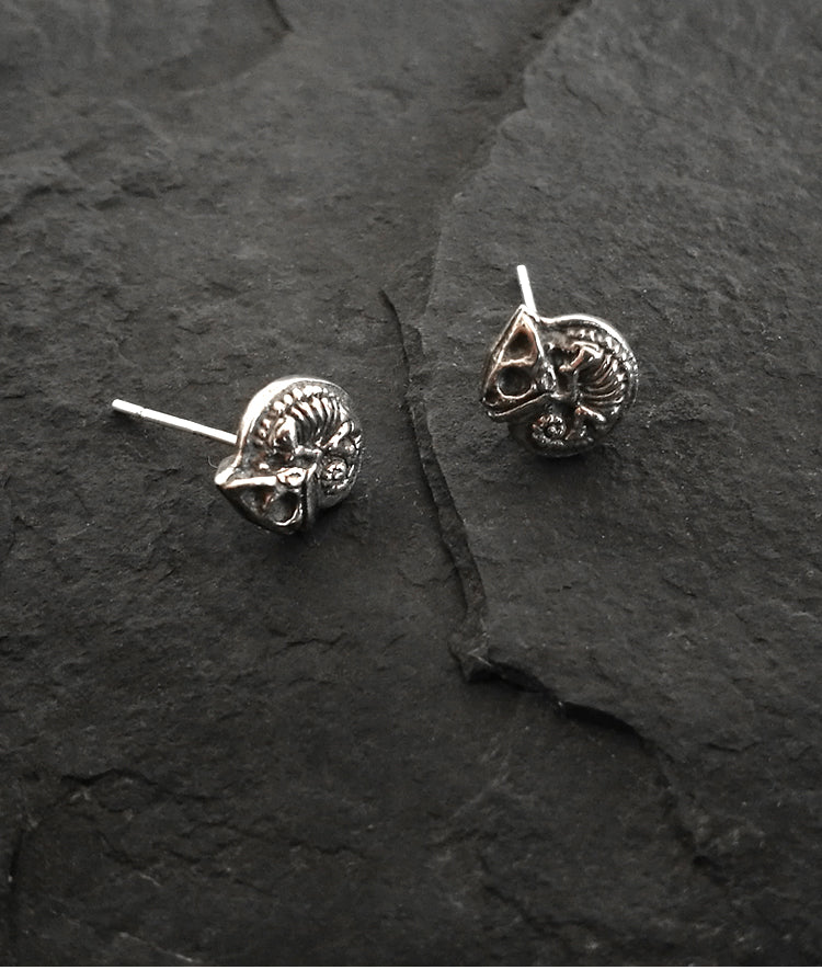 Chameleon Skeleton Earrings - Holy Buyble