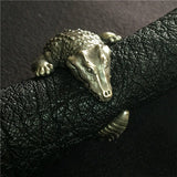 Baby Crocodile Silver Ring - Holy Buyble