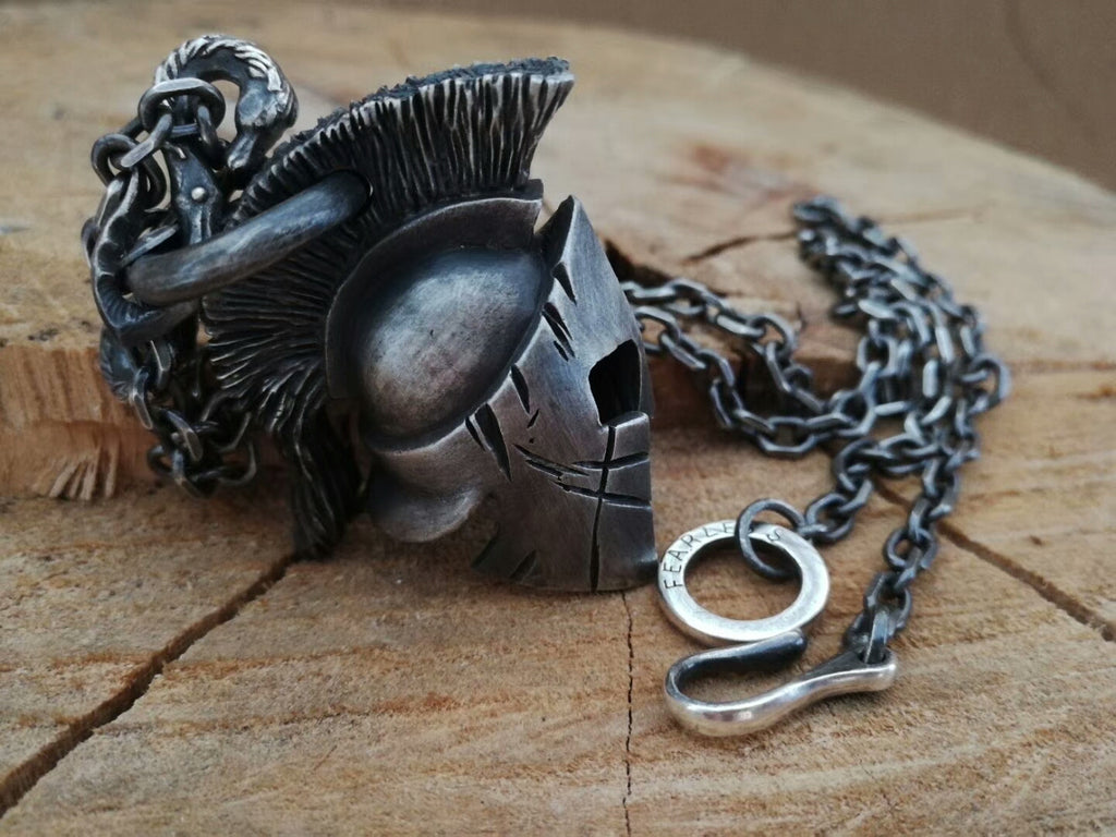 Horse Hook Spartacus Necklace - Holy Buyble