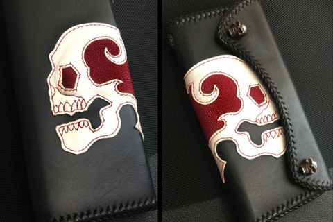 Stingray Ghost Skull Wallet