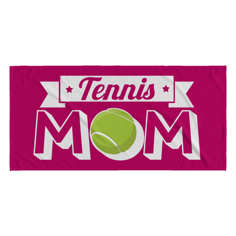 Tennis Mom Towel