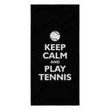 Keep Calm and Play Tennis Towel