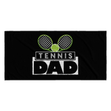 Tennis Dad Towel
