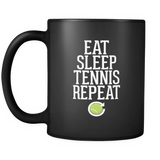 Eat Sleep Tennis Repeat Mug