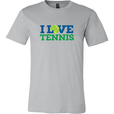 I Love Tennis Shirt (Mens)