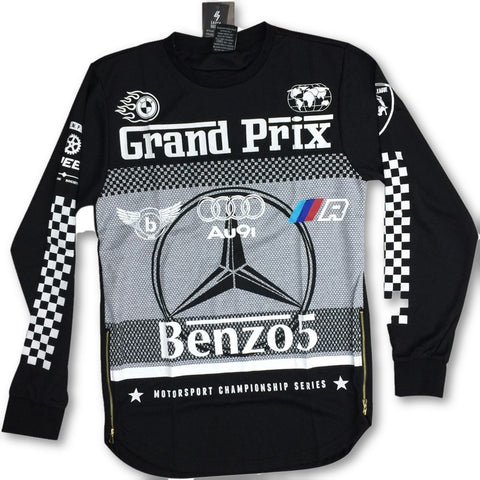 Benz Fashion Racing long sleave T-shirts