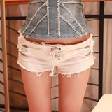 Denim Jeans Hot Pants