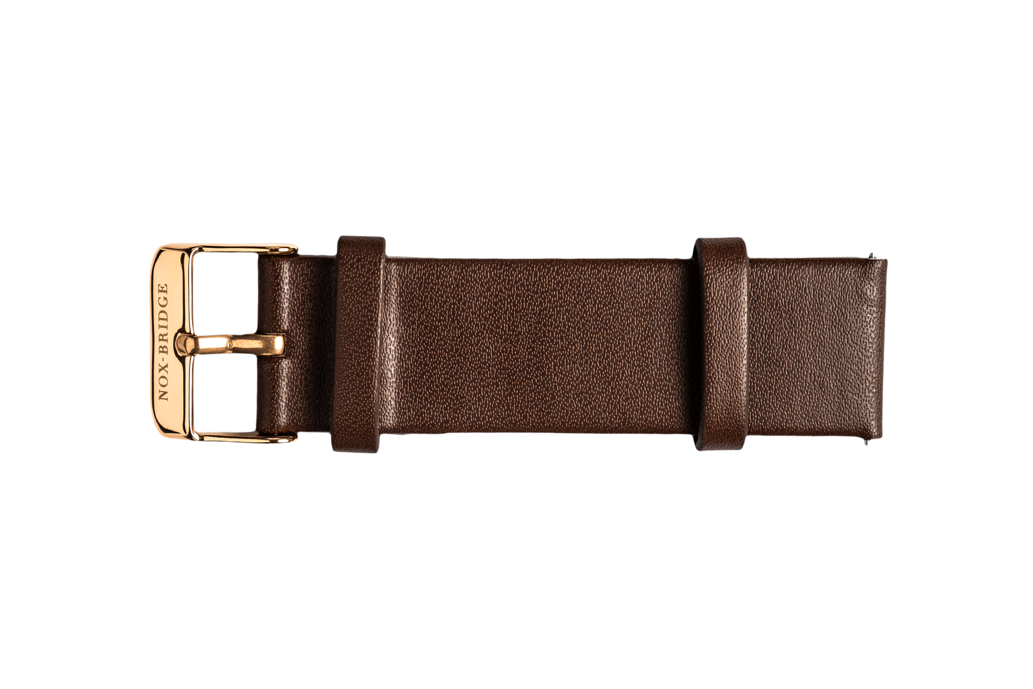 NOX-BRIDGE Eco-Friendly Recyclable Izar Brown Leather Strap