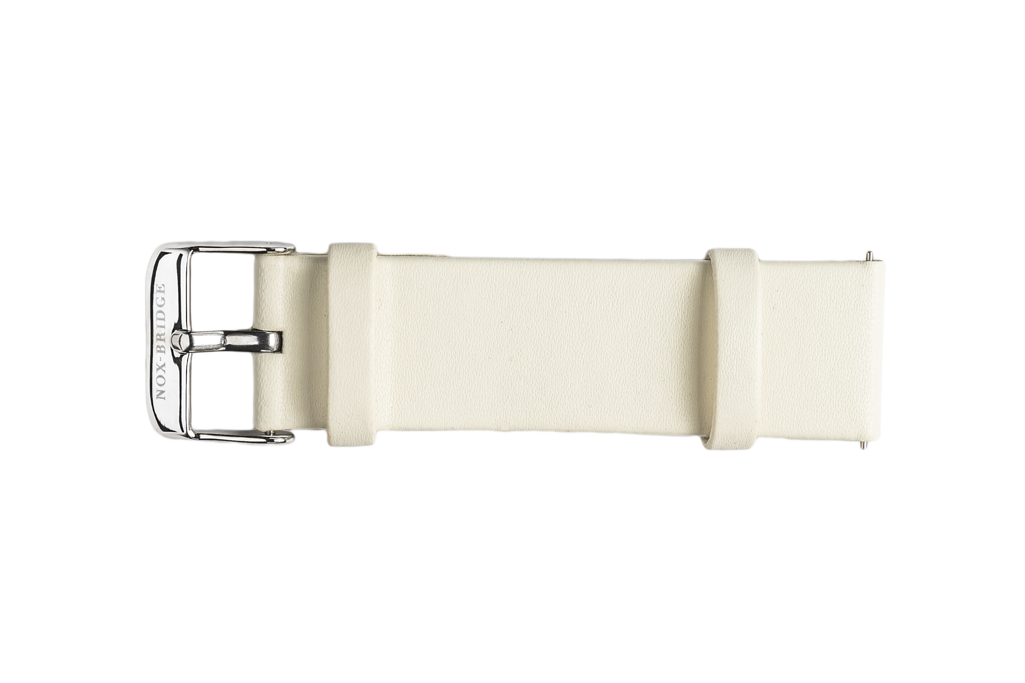 NOX-BRIDGE Eco-Friendly Recyclable Meissa White Leather Strap