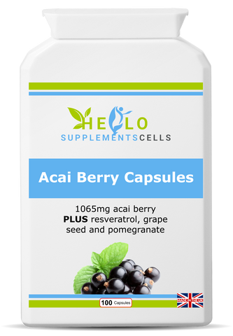 Acai Berry Capsules - hello supplement cells