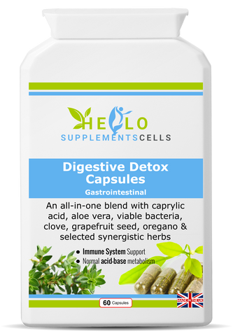Digestive Detox Capsules - hello supplement cells
