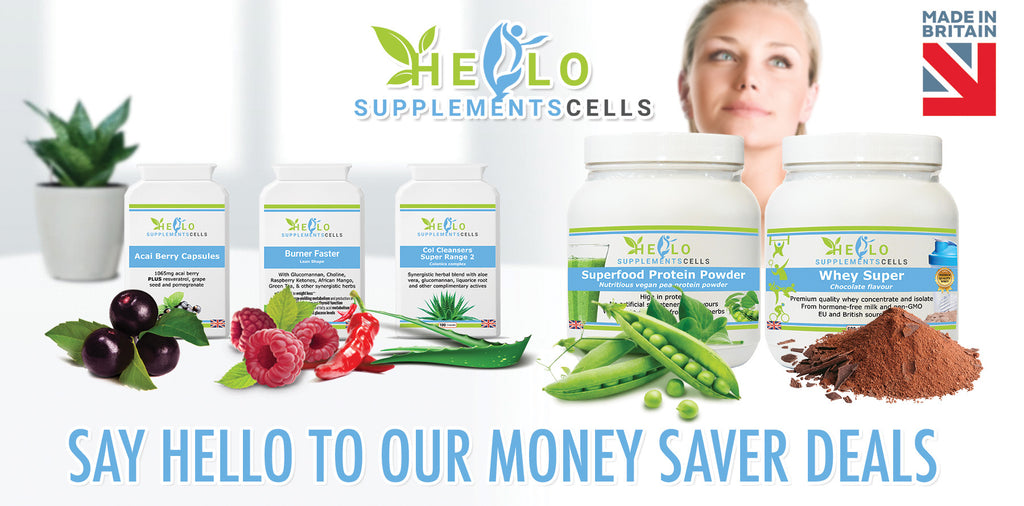 hello supplement cells, money saver deals on natural health supplements