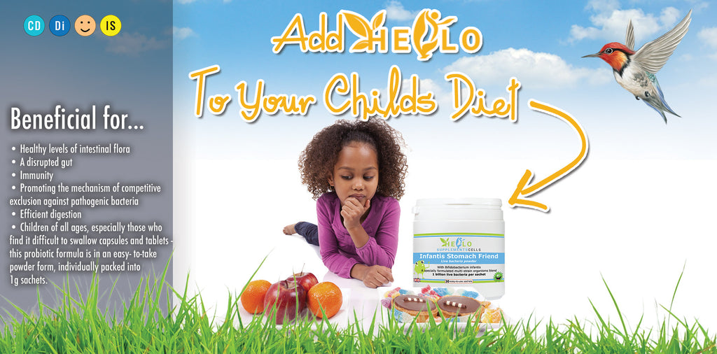 hello supplement cells, keep your kids strong and healthy