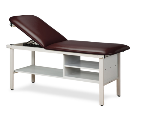 Alpha Treatment Table with Two Shelves