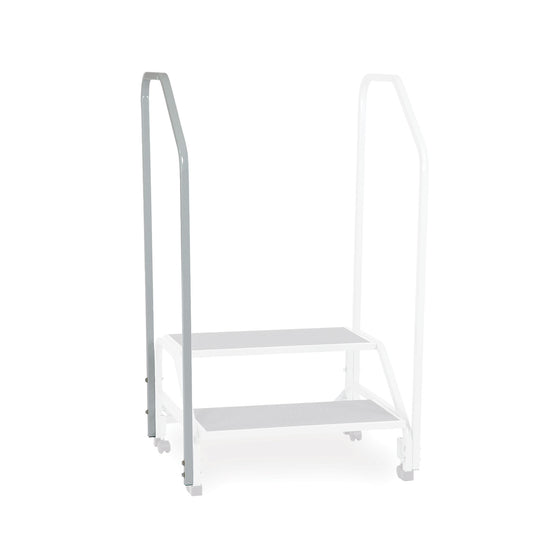 Optional 2nd Handrail for Bariatric Step Stool