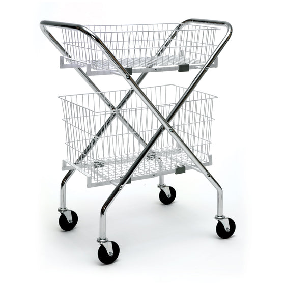 Cart Frame with Wire Baskets Bundle