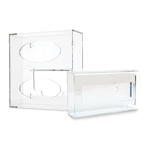 Glove Box & Tissue Box Holder Combo - Double Glove Box Holder